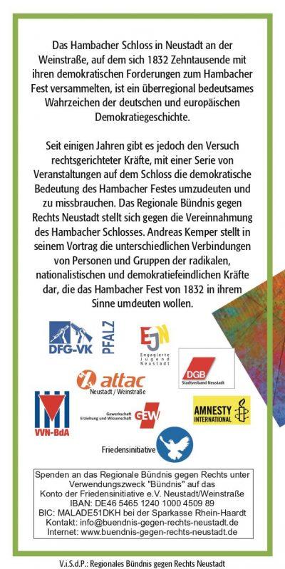 Veranstaltung Andreas Kemper